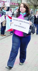 Sus simpatizantes han comparado López Rivera a Mandela.
