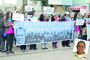 Activists gathered to call for the release of Oscar López Rivera, a Puerto Rican nationalist incarcerated for seditious conspiracy.