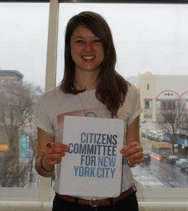 Sabine Bernards, Program Coordinator at Citizens Committee of NYC.