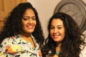 Gabby's House of Jewelry's Gabriella Merced (left) and Bronxmama blogger Nicole Perrino at Bronx Spring Trends event.