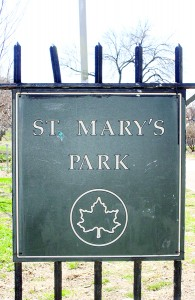 St. Mary's Park has played a role in my life since childhood.