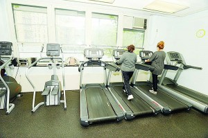 J. Hood Wright Recreation Center has new treadmills and fitness equipment. Photo: Malcolm Pinckney/NYC Parks