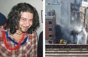 Andreas Panagopoulos was killed in the East Harlem explosion.