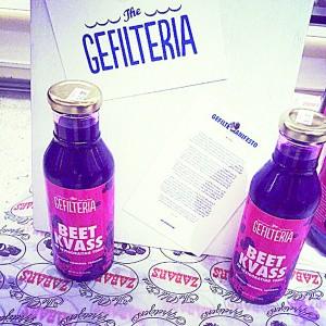 La Gefilteria también ofrece <i>kvas</i>, una bebida probiótica y fermentada.