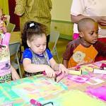 """""""Los niños estaban muy emocionados por los talleres"""", dijo Olívarez."""