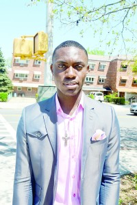"""""""Nothing is impossible by God,"""" said Nigerian student Ediomo Eggah."""