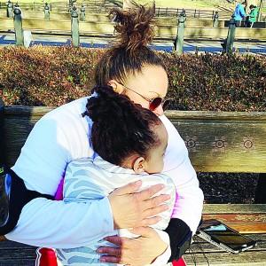 Her daughter serves as an inspiration.