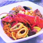 The Don Coquí seafood paella.