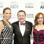 From left to right: Dineen García, VP, Diversity Strategies, Macy's; Chacón; and Cenia Paredes, Designer.