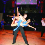 """From left to right: Baila Society performs and announces the 5th Annual """"Bailando Por Una Causa"""" dance showcase to benefit the Latino Commission on AIDS."""