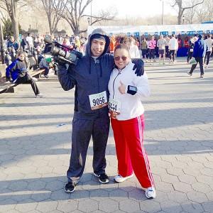 """""""Mi objetivo es correr la maratón de la ciudad de Nueva York"""", explica."""