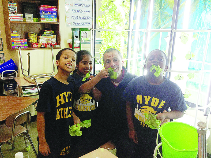 """I really feel like we're growing healthy, intelligent children here,"" says teacher and administrator Stephen Ritz. Photo: The Zeno Group"