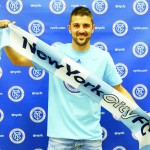 """""""It's an honor to be the first player and a flag-bearer of New York City,"""" said Villa."""