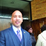 The interfaith service was co-hosted by Bronx Borough President Ruben Diaz Jr.