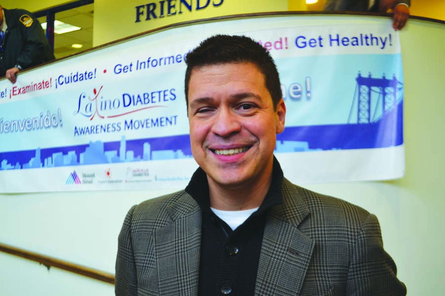 """I'm dedicated to the fight,"" said diabetes advocate Henry Cruz, who lost his siblings to the disease."
