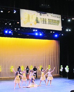 The show featured two dozen finalists competing for the grand prize of $1,000 for their school.