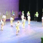 The step dancing team members from PS 55 were Bronze Medal winners.