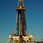 Fracking works by pumping solutions into the ground at high speeds.