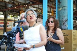 """El stand permitirá a los residentes """"redescubrir su barrio a través del sonido"""", dijo Susan Chin de Design Trust."""