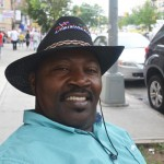 "Geraldo de la Cruz, avid parade-goer, has lived in the Bronx for 25 years. Being Dominican is ""one of the biggest privileges the world has to offer."""