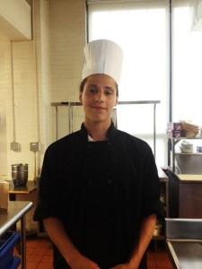 """I'm hoping to become a chef,"" said student Stephen Amoros."