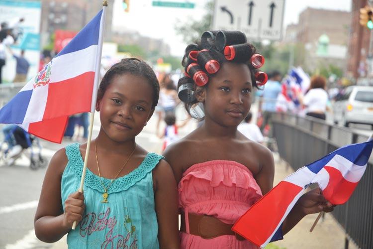 Belleza y bandera.