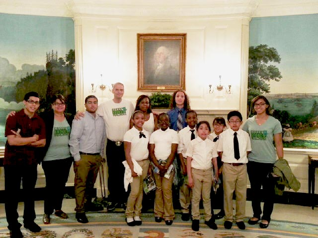 Students took a private White House tour with presidential chef Bill Yosses. Photo: S. Ritz