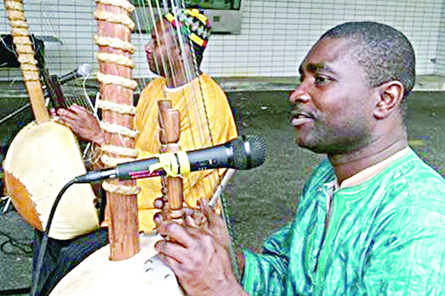 Salieu Suso was born into a family of traditional Gambian musicians and historians that extends back nearly 1,000 years.