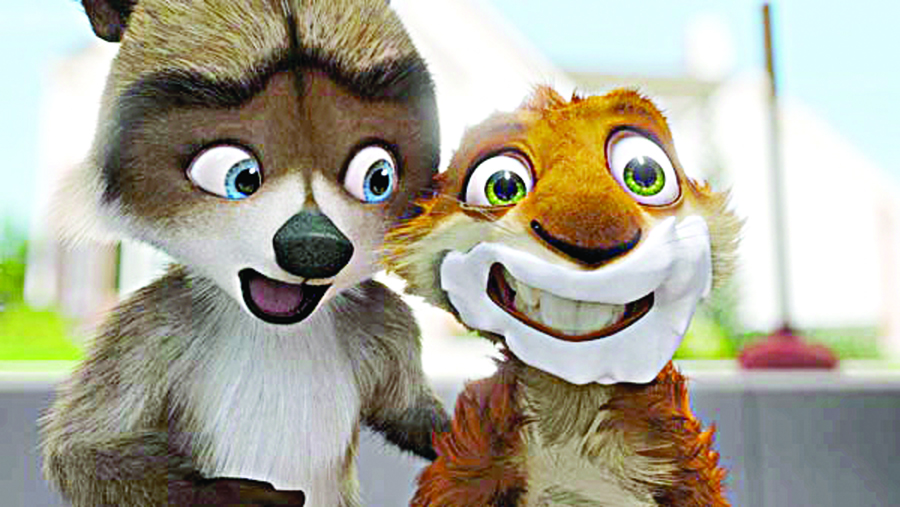 Starlight Park will screen Over the Hedge.