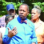 Councilmember King announced plans for improvements to two housing complexes.