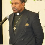 Father Horton J. Scott of St. Paul's Episcopal Church delivered the invocation.