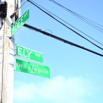 Ely Avenue, between Hammersley and Adee Avenues, was named in honor of the fallen officer.