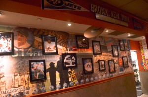 """Applebee's Restaurants pride themselves on adorning their establishments with local touches reflective of the neighborhood around them. At the restaurant at the Bronx Terminal Market, just across from Yankee Stadium, this included lots of """"Bronx Bombers"""" memorabilia."""