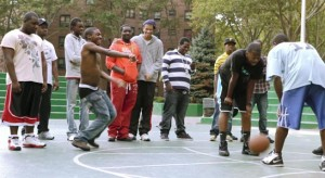 Doin' It in the Park explores New York City's outdoor summer basketball.