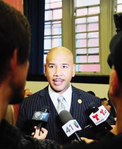El presidente del condado del Bronx Rubén Díaz, Jr.
