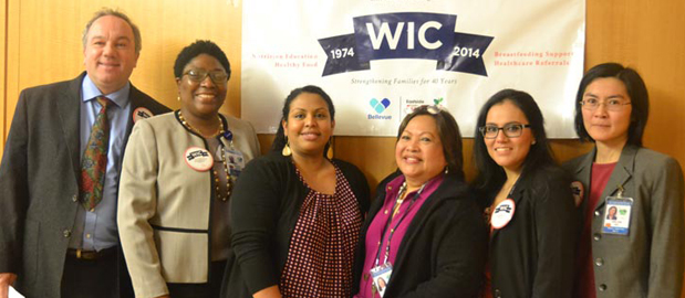 The work of WIC<br />La labor de WIC