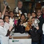 WCS kicks off Toy Drive </br> WCS inaugura colecta de juguetes