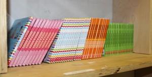 20,000 libros al año son distribuidos.