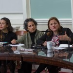 Speaker Melissa Mark-Viverito hosted a roundtable discussion with media outlets.