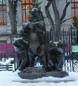 Group of Bears en Central Park.
