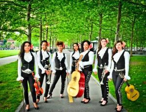 Las siete mujeres provienen de todas partes del mundo.