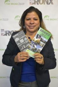 """The Bronx has arrived,"" said Olga Luz Tirado, Executive Director of the Bronx Tourism Council."