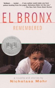Nicholasa Mohr will be reading from El Bronx Remembered.