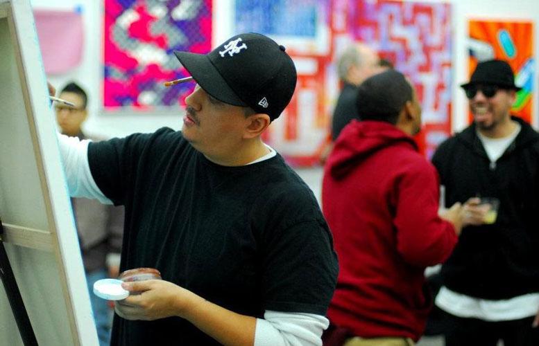 """I was constantly doing art,"" says artist Nelson Host Santiago."