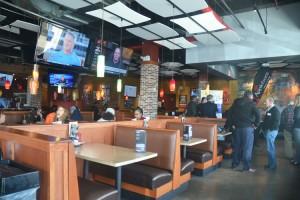 El restaurante es conocido como un destino casual para comer.