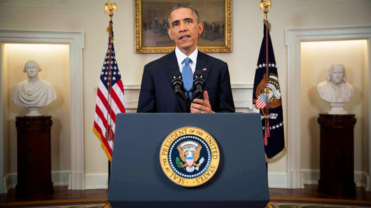 President Obama announced policy changes in December 2014.