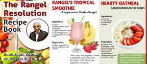 Rangel reveals recipes </br> Rangel revela sus recetas