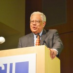 """""""I thank you for inspiring me,"""" said Secretary of State Cesar Perales."""