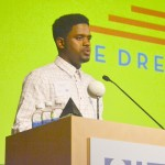 """""""I dream we will continue to have people in leadership positions to pave the road for us,"""" said scholarship recipient Kimarley Garrick."""