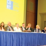 The event was held at CUNY's Graduate Center.